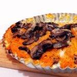 Wytrawna tarta na ryżowym cieście z dynią + jak przechowywać rozkrojoną dynię?