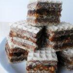 WAFEL SNICKERS (wegański, bez cukru)