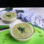 BROKUŁOWO-POROWA zupa krem