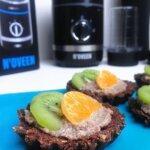 Owocowe babeczki bez pieczenia (wegańskie, bez cukru, bezglutenowe) + Blender N'OVEEN