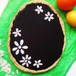 MAZUREK WIELKANOCNY z karmelem i czekoladą! (wegański, bezglutenowy)