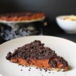 Ciasto bez pieczenia z Oreo, orzechami i kremem czekoladowym