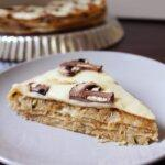 Tort z tortilli a'la krokiety z kapustą i pieczarkami – szybsza wersja krokietów