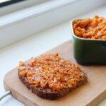 Wegański paprykarz – domowy paprykarz z ryżem