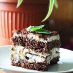 Ciasto Miętowa Rozpusta – miętowy tort z czekoladą