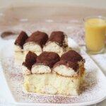 Budyniowe ciasto bez pieczenia z advocatem